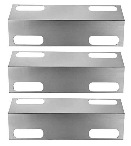 LOKHING BBQ Gasgrill Ersatzteile für Ducane Affinity Serie 3073101, 3200, 3400, 4100, 4200 und andere, 39CM 99351 Edelstahl Hitzeschutzblech Zeltdeflektor BBQ Brennerdeckel Flame Tamer