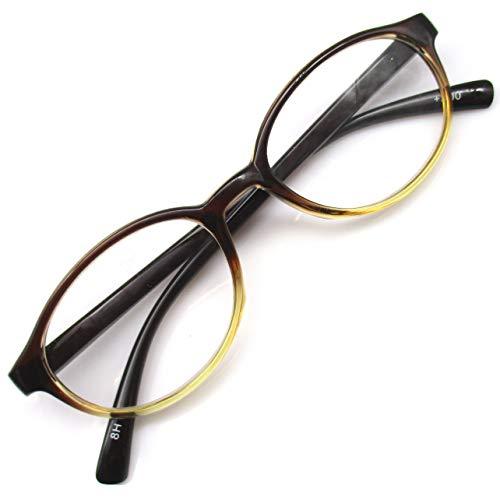 レトロ 老眼鏡 ボストン リーディンググラス 非球面 レンズ シニアグラス (+3.50)