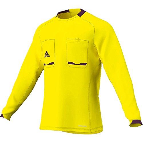 adidas X19662 Maillot d'arbitre à manches longues Referee 12 Jaune/Violet Taille XXL
