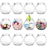 Kicko Plastic Ivy Bowls - 12 Pack - 16 Ounce Tub - Perfect for Home Decor, Centerpiece, Carnival Game Accessory, Ornament Holder, Party Supplies, Sweet Treats