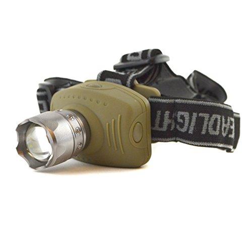 AB Tools-Toolzone 3W CREE LED Projecteur Z2 Avant Inclinaison Zoom Lampe TE951