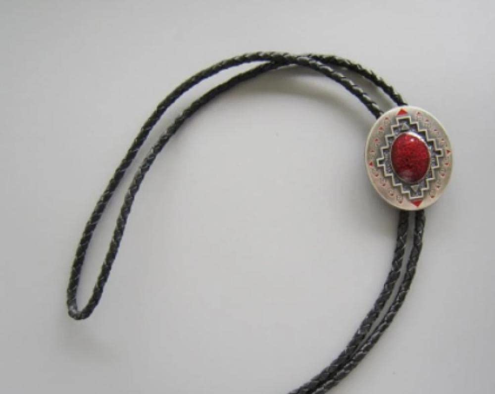 YPYSD Bolo Same day shipping Ties Vintage Silver Plated Pattern Wed Southwest Oval Max 87% OFF