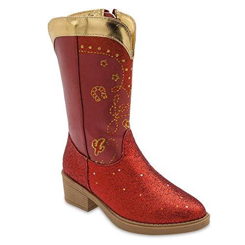 Disney Jessie Cowgirl Boots for Kids Size 13/1 YTH Multi