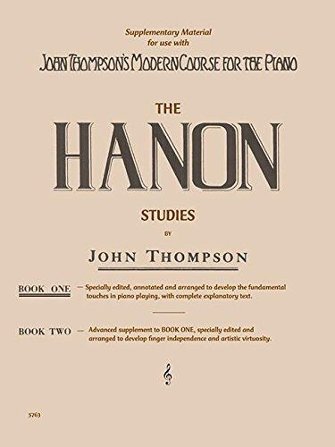 Hanon Studies - Book 1: Elementary Level (PIANO)