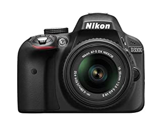 Nikon D3300 24.2 MP CMOS Digital SLR Camera with 18-55mm Zoom Lens - Black (B00I8JU74Y) | Amazon price tracker / tracking, Amazon price history charts, Amazon price watches, Amazon price drop alerts