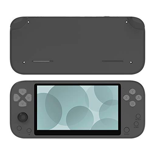 Youmine Consola de Juegos PortáTil X20 Life de 5,1 Pulgadas, Consola de Videojuegos Retro para NiiOs, Compatible con 2 Jugadores y TV, 2500 MAh 8 GB