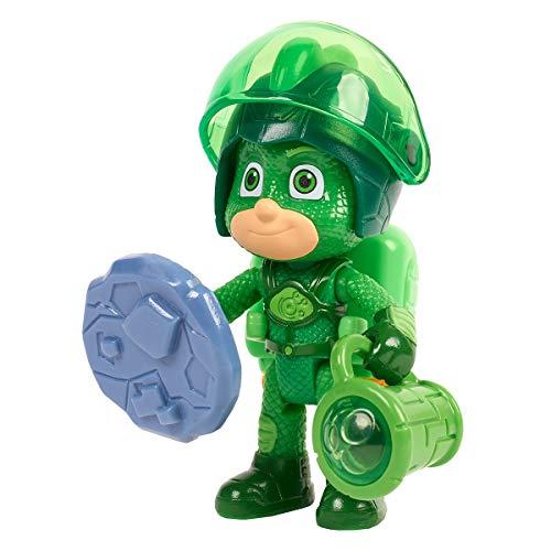 Simba PJ Masks 109402362 - Personaggio da gioco Geco / Piramia / Action figure / mobile / accessori con luce, 8 cm, per bambini dai 3 anni in su