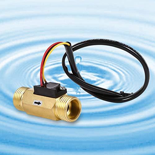 Kadimendium Sensor de Flujo de Agua G1 / 2 Medidor de Flujo...