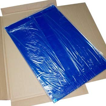 "3 mats/Box, 30 Layers per mat, 18"" x 36"", 4.5 C Blue Sticky mat, Cleanroom Tacky Mats/PVC Sticky Mats/Adhesive Pads, Used for Floor (for Home/Laboratories/Medical Offices use)"
