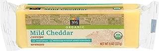 365 Everyday Value, Organic Mild Cheddar Bars, 8 oz