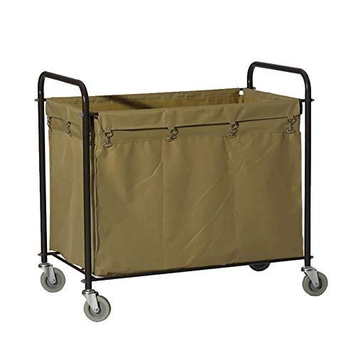 Trolley On Wheels Tool Mobiles Wäschewagen für Hotel, Abnehmbarer Abstellwagen in der Lobby, Hochleistungs-Zimmerhygienereinigungswagen
