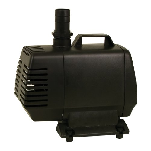 TetraPond Water Garden Pump, Powers Waterfalls/Filters/Fountain Heads, 1000 to 1500 gallons