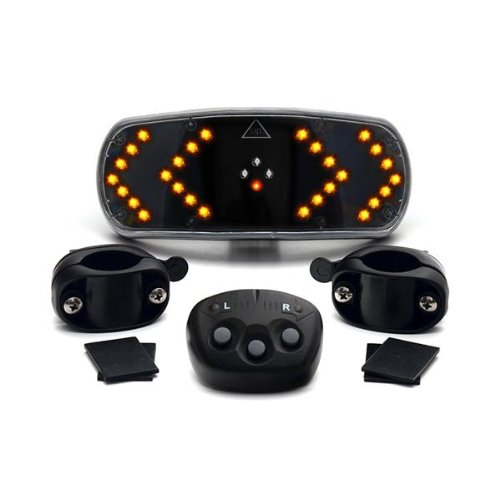 CKB LTD Sistema de señalización de bicicleta con control remoto inalámbrico para bicicleta Indicadores luz - Ciclismo Gadget Signal Pod