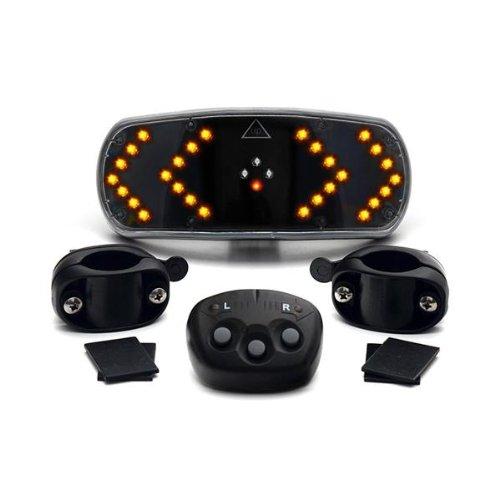 CKB LTD Bicycle Signalling System Wireless Remote Control Bike Indicators light - Cycling Gadget Signal Pod