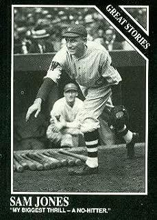 Sad Sam Jones Baseball Card (Boston Red Sox) 1991 Sporting News Conlon Collection #174