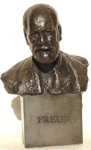 Sculpture Sigmund Freud Handgegossene Büste Oscar Nemon signiert