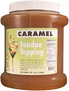I.Rice & Company Ready To Use Ice Cream Topping, 1/2 gal. Jar   1 Each (Caramel)