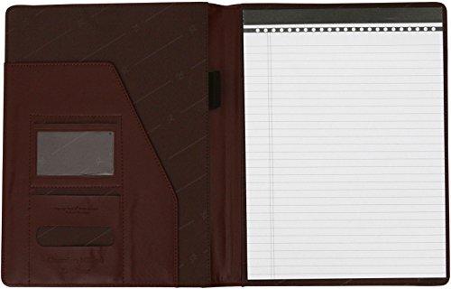 41FrxaG0EbL - Cartera portafolios de estilo ejecutivo - Para documentos de tamaño A4 - Cuero abatanado - Marrón