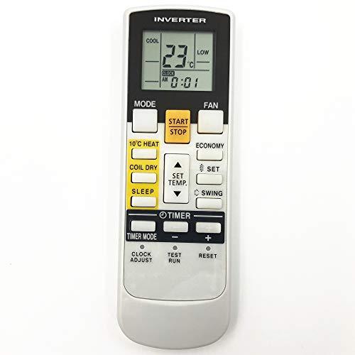 Lands Telecomando di ricambio AR-RAE1E misura per Fujitsu General condizionatore d aria ASHA09LGC ASHA12LGC