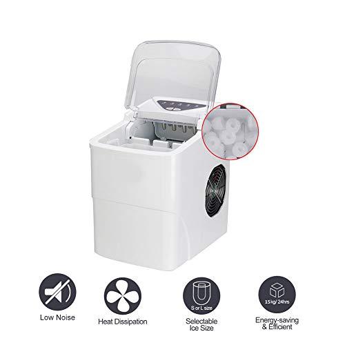 LCLLXB Tragbare 2L automatische elektrische Eismaschine Eismischer Smoothie-Maschine Eiskratzer Werbung für Party, Versammlung, Zuhause