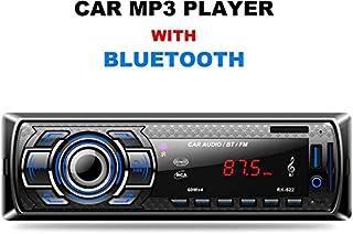 Radio de Coche, Arespark Autoradio Bluetooth Reproductor MP3 para Automóvil FM Estéreo Radio Manos Libres Audio