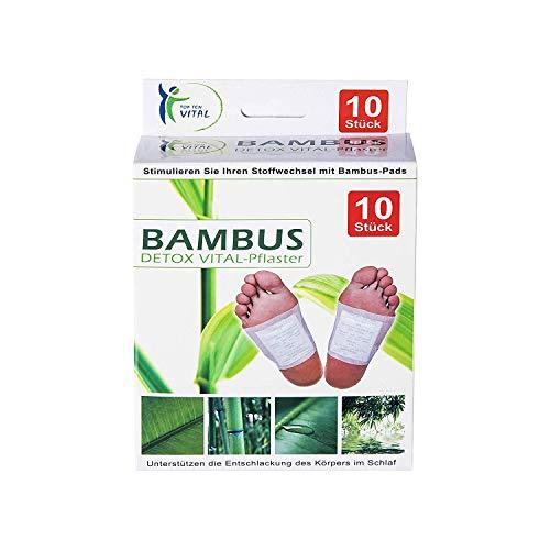 10 Bambus Vital-Pads Fußpflaster Energiepflaster, Wellness für die Füße