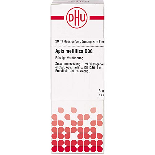 DHU Apis mellifica D30 Dilution, 20 ml Lösung