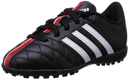 Adidas 11Questra TF J Fussballschuhe Schuhe Fußball Soccer TF Multinocke Black B36030, Schuhgröße:38 2/3