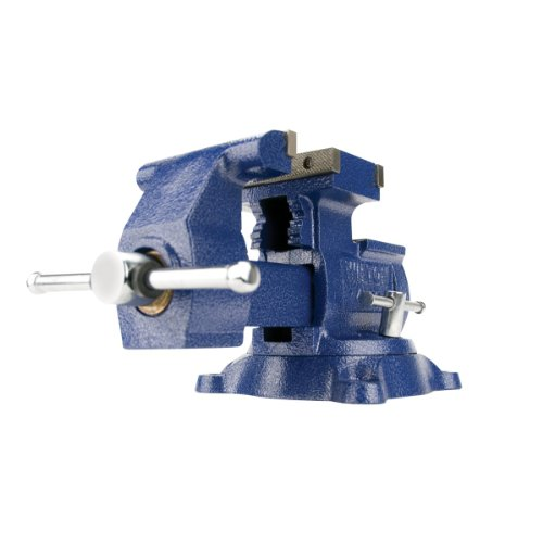 Wilton 14500 4500, Reversible Mechanics Vise-Swivel Base, 5-1/2-Inch Jaw Width, 6-Inch Jaw Opening,...
