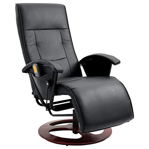 vidaXL Massagesessel Elektrisch Fernsehsessel Relaxsessel TV Sessel Massage