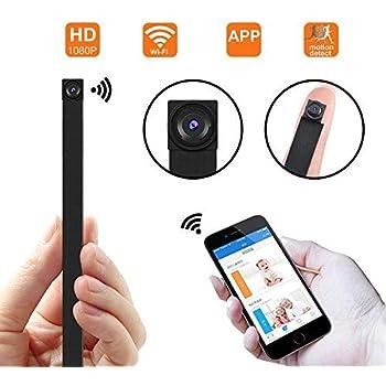 1080P HD P2P 超小型 動体検知 高画質隠しカメラ 長時間録画 10メートル信号安定 防犯監視カメラ スパイカメラ 日本語取扱 iPad/iPhone/Android 4画面対応