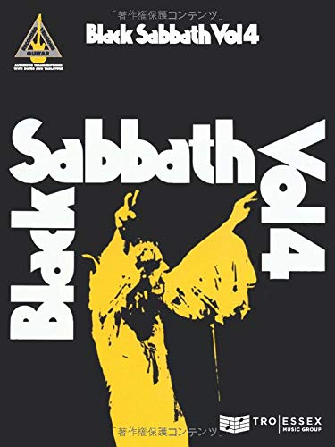 Black Sabbath Vol.4 Guitar Tab.