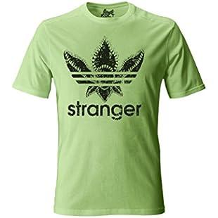 1/4 Mile Kult ClothingTM Stranger Things Demogorgon T-Shirt White/Black Inspired Design (S, Mint Green)