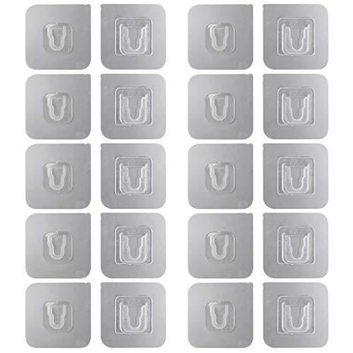 Pegatinas multifuncionales, universales, no marcas, ganchos de pared autoadhesivos de doble cara, sello para scrapbooking, sello de corte de papel para la