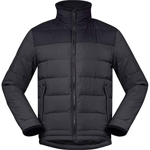 Bergans Herren Oslo Down Light Jacke, solidcharcoal-Black, XL