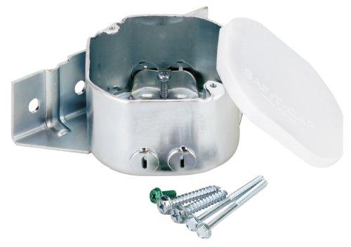 Westinghouse Lighting 0124000 caja de ventilador lateral, 2-1/8 pulgadas de profundidad