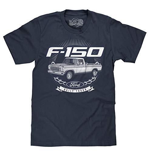 BEAR RUN Clothing Co. Men's Ford Built Tough T-Shirt - 1979 Ford F-150 Truck...
