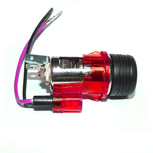 A1 Rot Zigarettenanzünder & Steckdose Rot Beleuchtet Universal 12V 12 Volt LKW PKW Neu