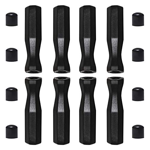 Foosball Handle Grips Compact to 5/8-Inch Foosball Rod w/ 8pcs...