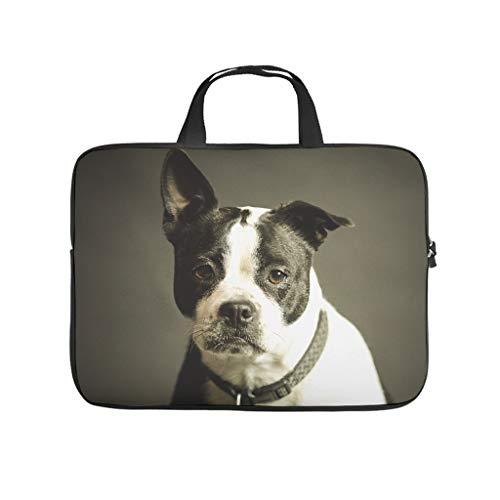 Terrier - Funda de neopreno para portátil con diseño de perro