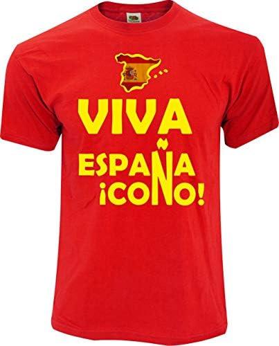 Desconocido Camiseta Viva ESPAÑA: Amazon.es: Ropa