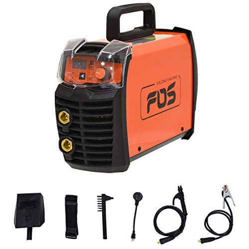Goplus ARC MMA Welder, 200 AMP Lift TIG Welding Machine Hot Start LCD Anti-Stick TIG Welding Machine 110/220V Dual Voltage IGBT Digital DC Portable Inverter Welder