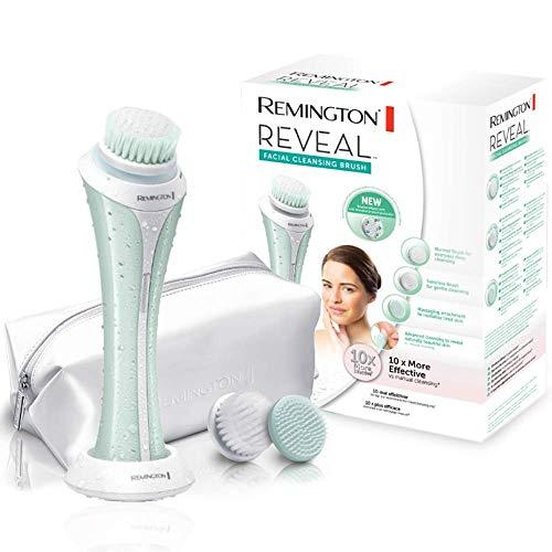 Remington FC1000 Reveal - Cepillo limpiador facial, tres cabezales, resistente al agua,...