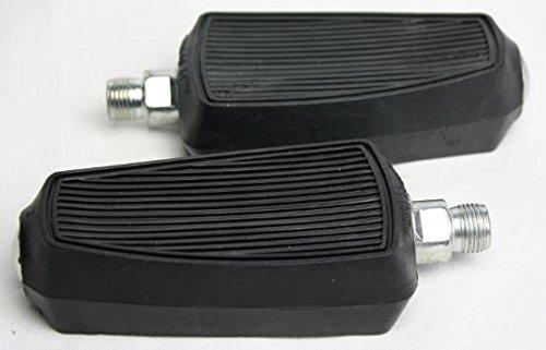 Pedale für Mofas und Mopeds, schwarz