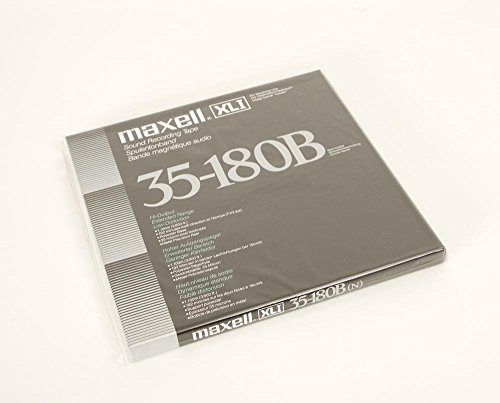 Maxell XL I 35-180 27 er Tonband neu!