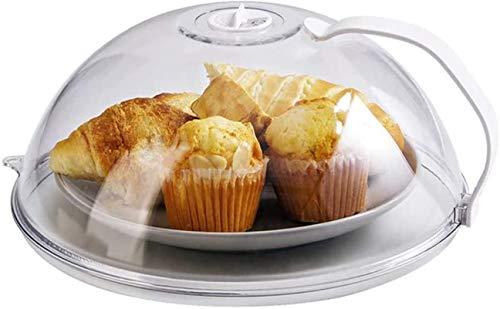 Cubierta de Microondas, Tapa para Microondas, con Respiraderos de Vapor,Hecha de Plástico Libre de BPA, para Cubrir Platos, Prevenir Salpicaduras de Alimentos, Apto para lavavajillas,Microwave