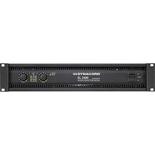 Dynacord SL 2400 PA Verstärker RMS Leistung je Kanal an 4 Ohm: 1200 W