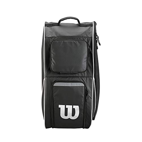 "Wilson Tackle Football Player Equipment Bag Black, 12""L x 14""W x 24""H"
