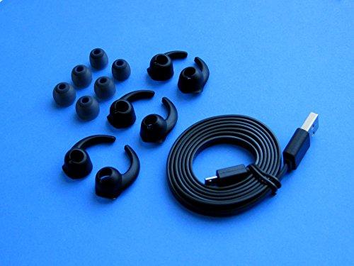 Accessori di Ricambio Comfort Set (B-BSTB-BFLTCB) Compatibile con Plantronics Backbeat Go 2 Wireless...