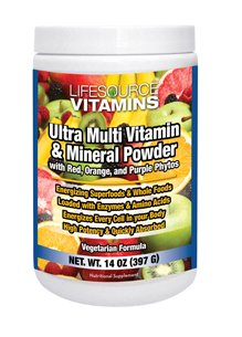 Ultra Multi Vitamin & Mineral Powder Plus Phyto Foods
